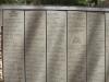 Pasaulio Tautų Teisuolių alėja, akmenyje iškalti Teisuolių iš įvairių šalių vardai