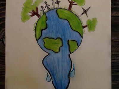"""Eglė Valčiakaitė (IIa) """"Pasaulis mūsų rankose"""""""